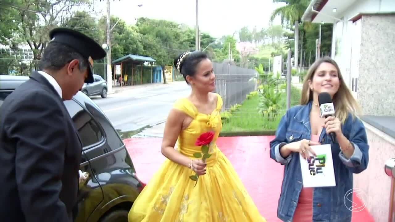 Plugue presenteia moradora de Volta Redonda com um 'Dia de Princesa' - parte 2