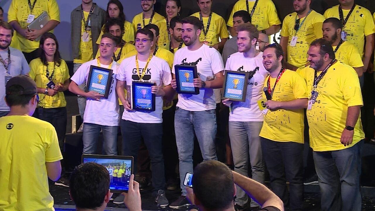 Globo Meme é o grande campeão do Hackathon Globo
