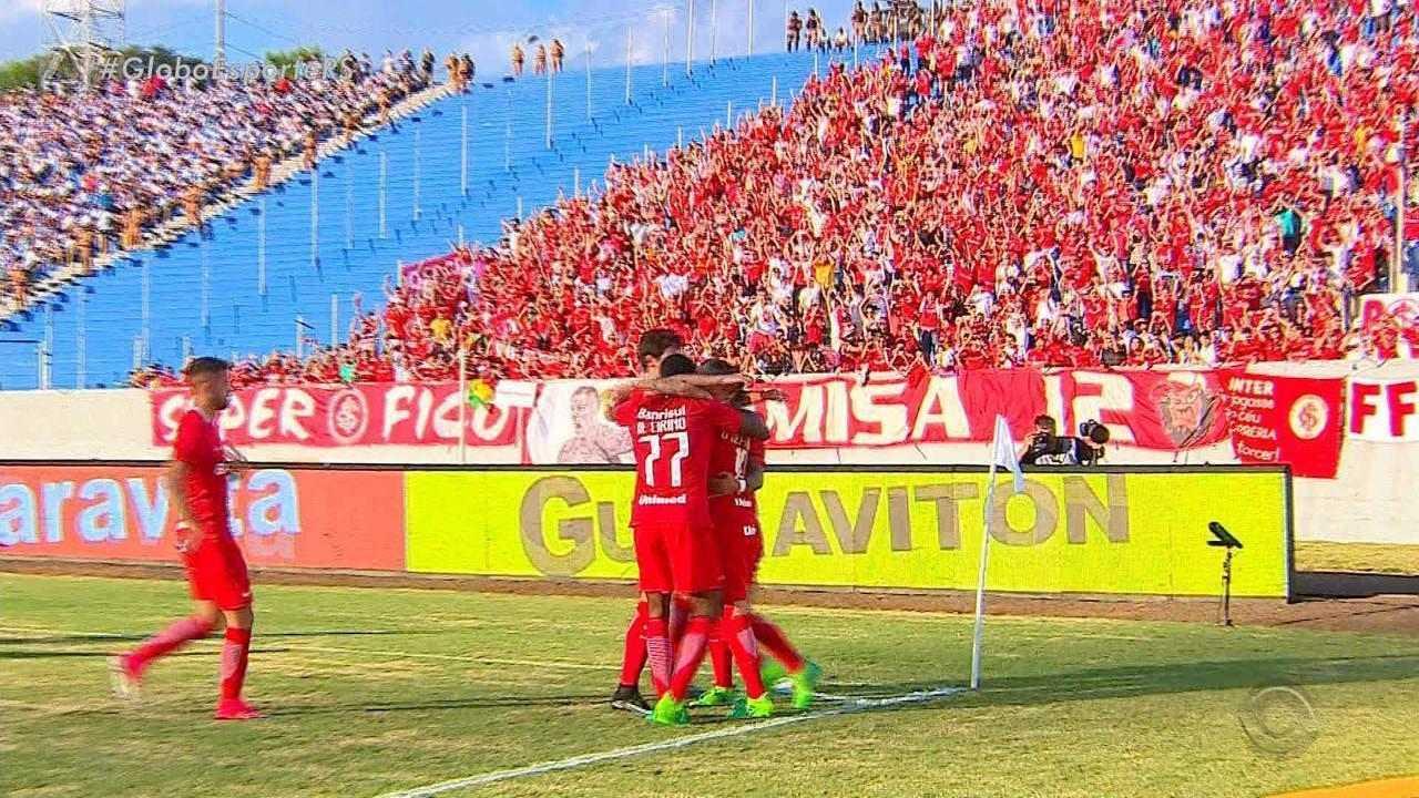 Inter estreia na série B vencendo o Londrina