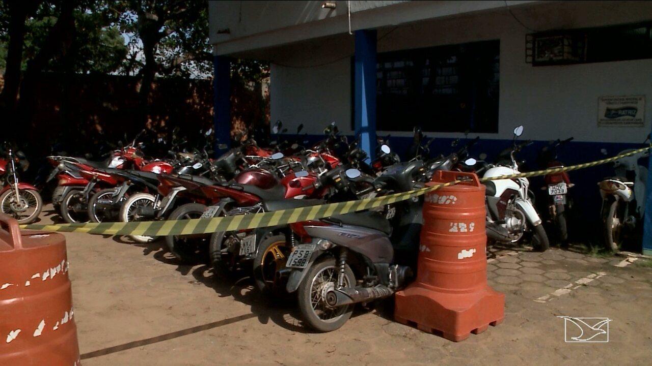 Operação da Secretaria Municipal de Trânsito apreende veículos em Imperatriz