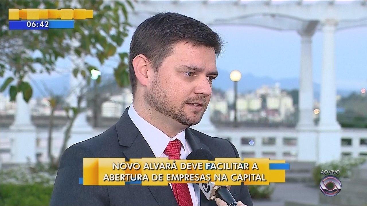 Novo alvará deve facilitar abertura de empresas em Florianópolis