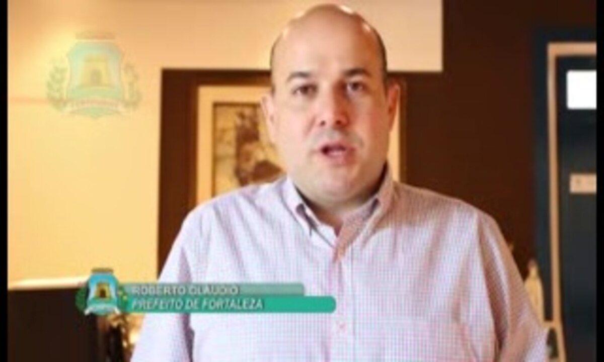 Robeto Cláudio explica sobre remoção de feirantes da Rua José Avelino, em Fortaleza