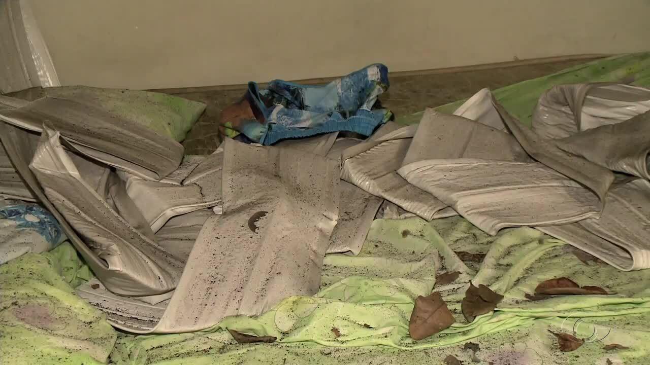 Família fica ferida após celular explodir e provocar incêndio de residência em Maceió