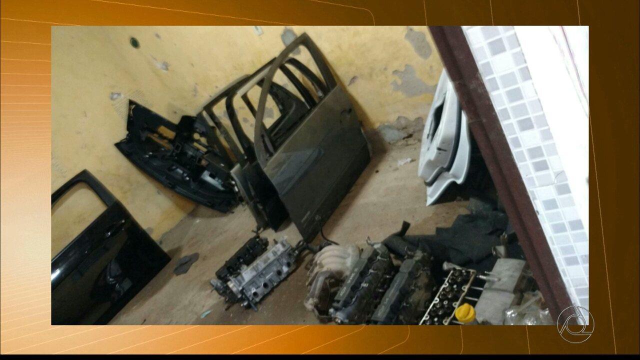 Polícia civil cumpre mandatos de apreensão em Campina Grande par recuperar carros roubados