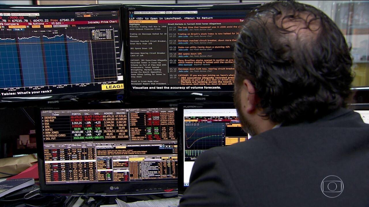 Dia de pânico nos mercados: dólar dispara e Bolsa fecha no vermelho