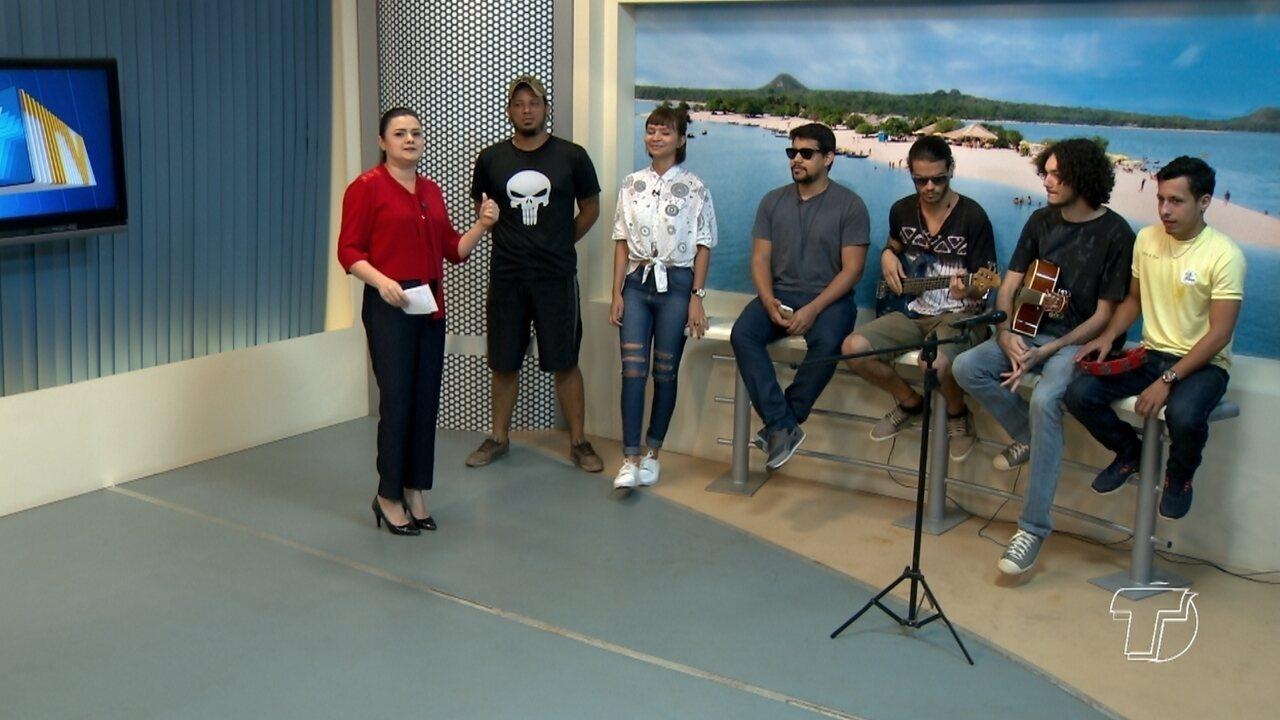 Banda Shangrillah é destaque no Bate Papo Cultural do Jornal Tapajós