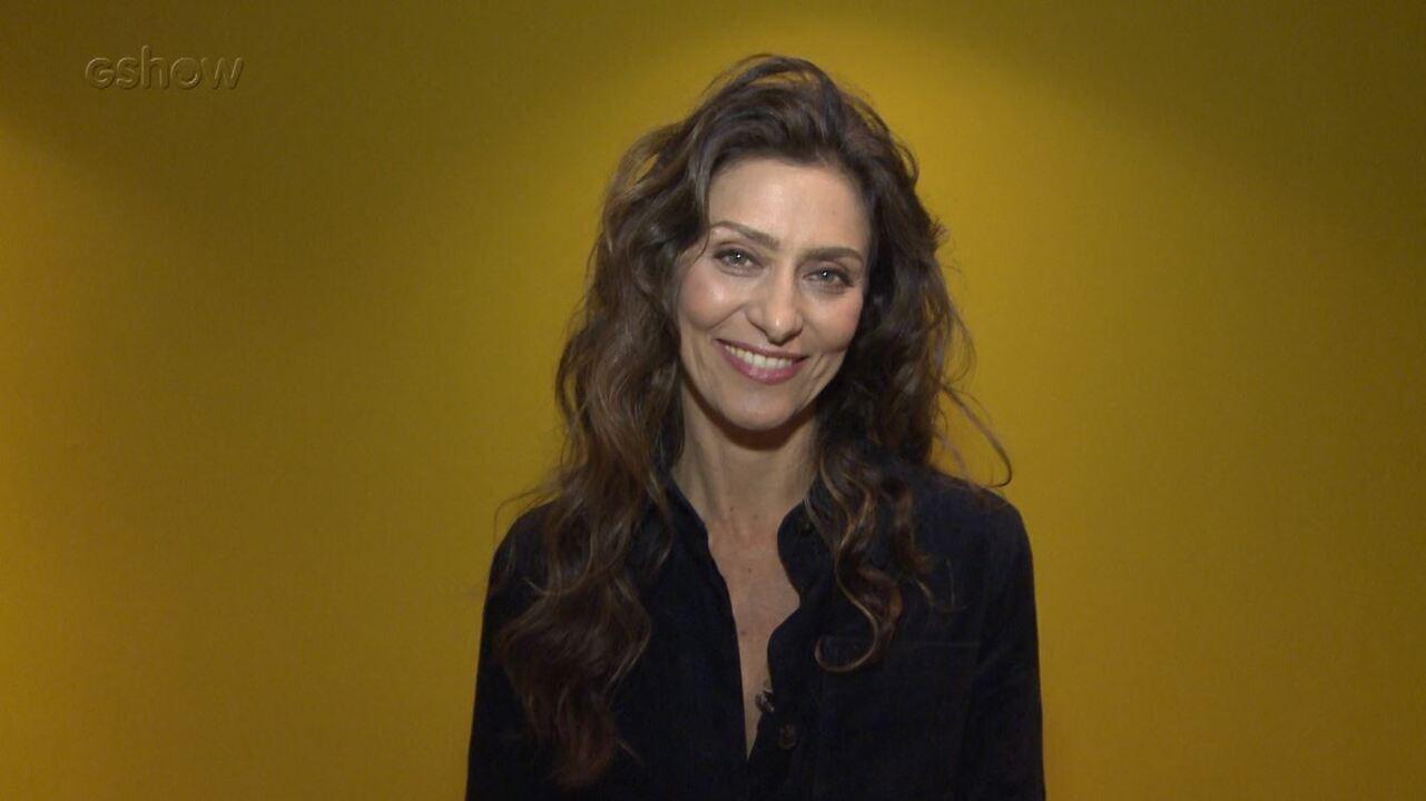 Maria Fernanda Cândido dá conselhos para sua personagem 'Joyce'