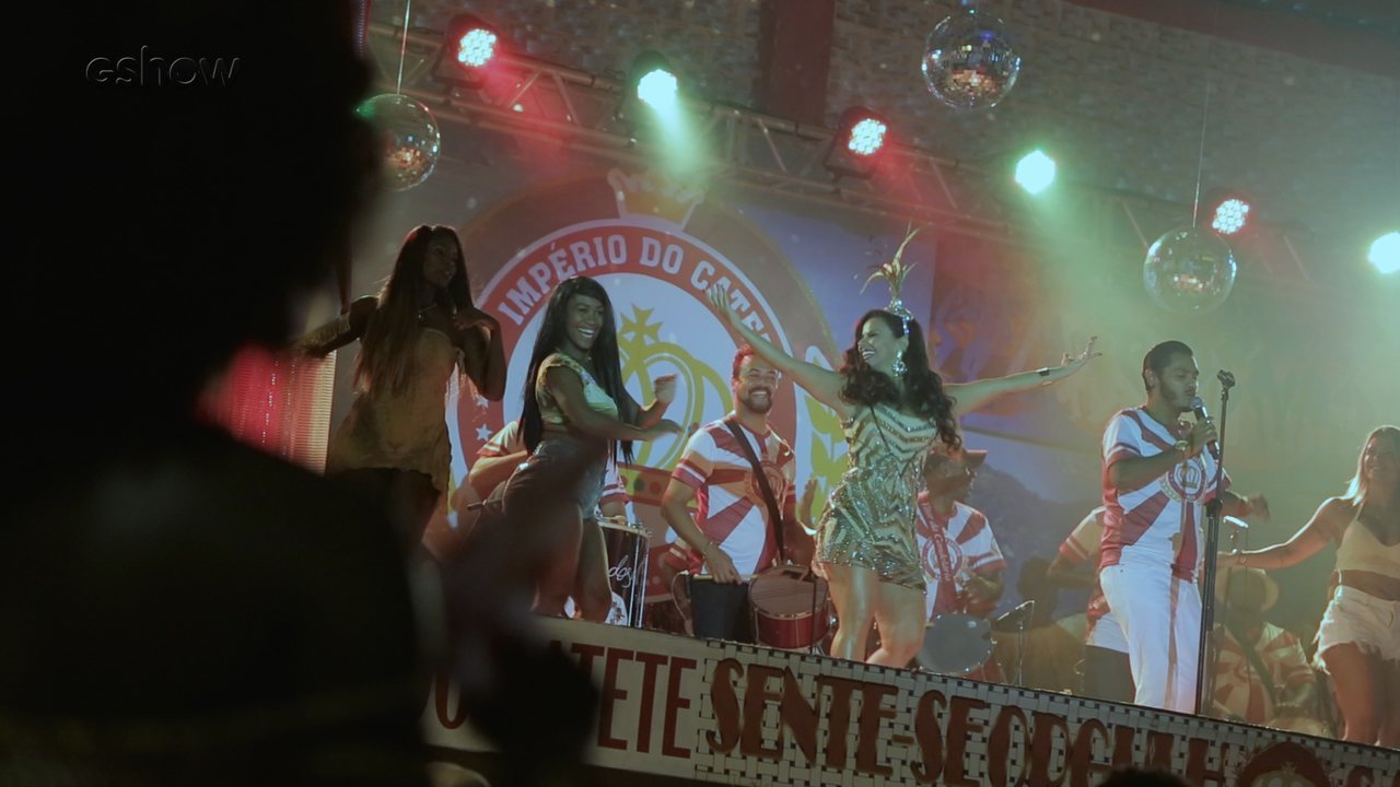 Making of: Edith é coroada rainha de bateria e Nelson comemora samba vencedor na Império do Catete