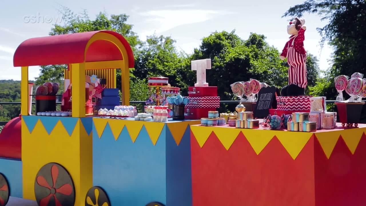 Paga Pega grava cenas em festa infantil
