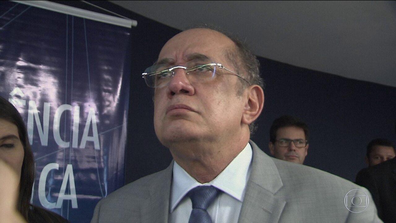 STF pode rever decisão de prisão em segunda instância, diz Gilmar Mendes