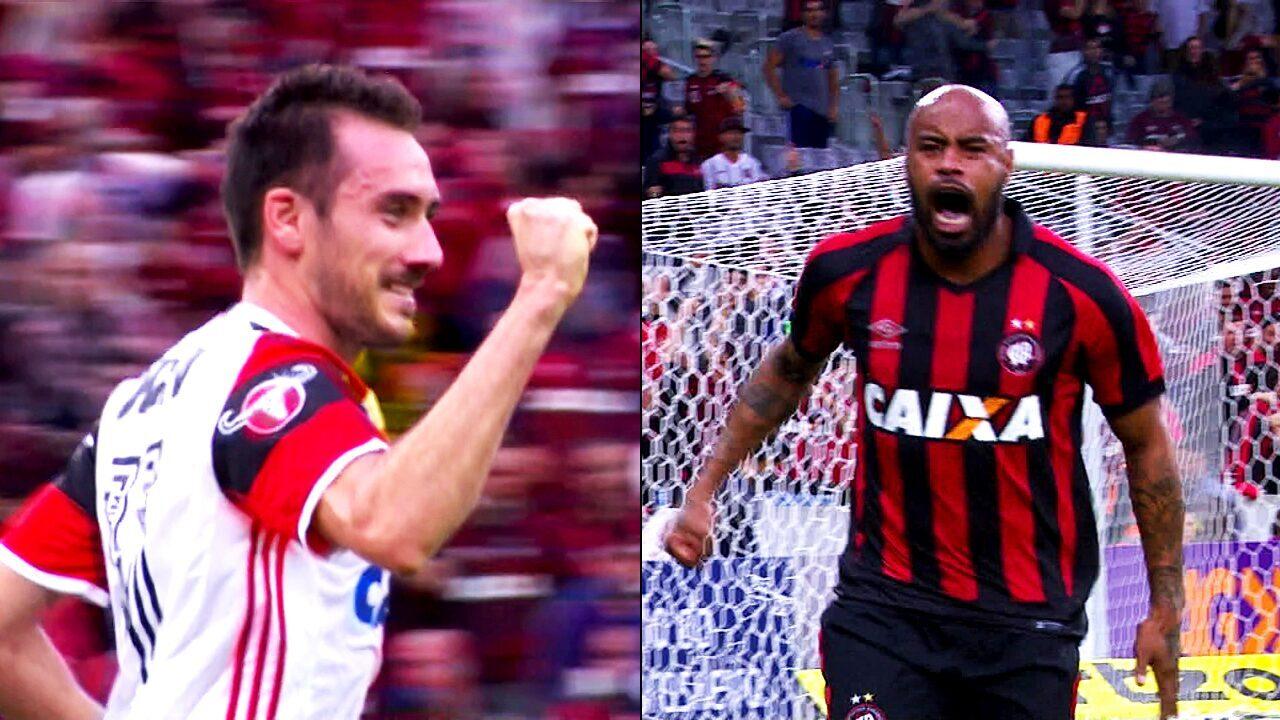 Brasileirão 2017 | Melhores momentos: Atlético-PR 1 x 1 Flamengo ...