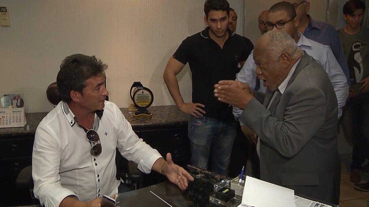 Nosman Barreiro aproveita viagem de Amadeu Rodrigues e se autoproclama presidente da FPF