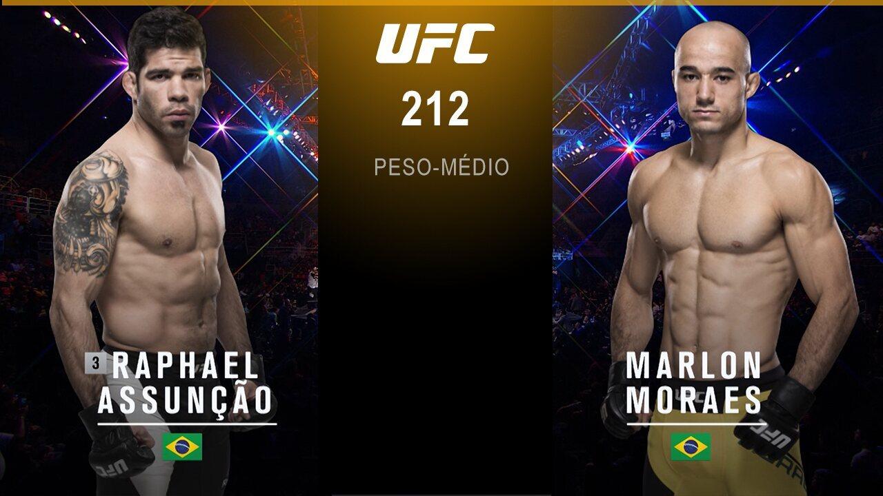 UFC 212 - Raphael Assunção x Marlon Moraes