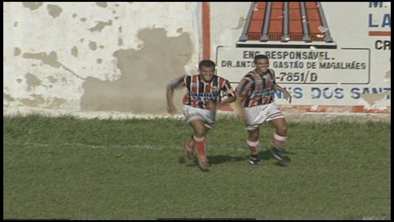 Os gols de Serra 2 x 1 Mimosense, pela Série B do Campeonato Capixaba 1997
