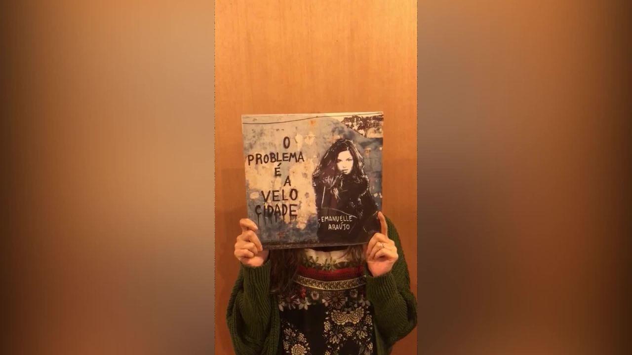 Emanuelle Araújo convida para lançamento de LP