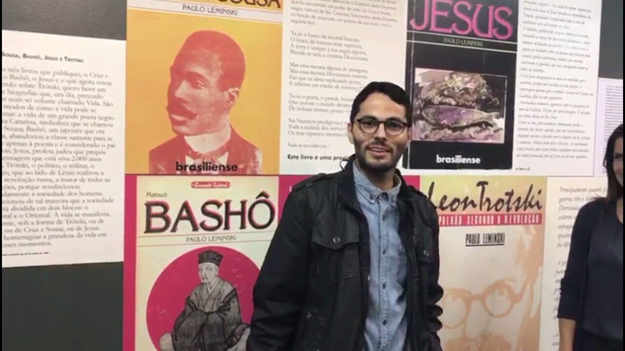 Maringá recebe exposição sobre memória e obra do escritor Paulo Leminski