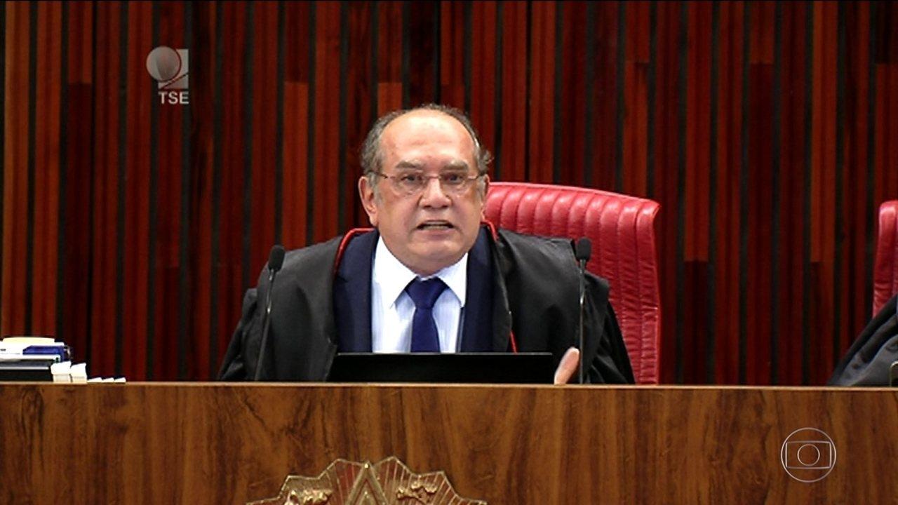 Gilmar Mendes ressalta que não cabe à Justiça Eleitoral resolver problemas políticos
