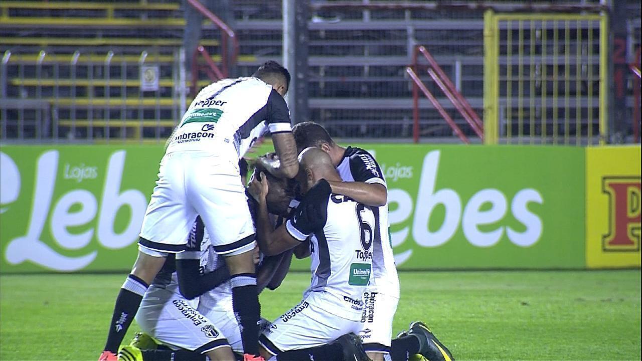 Confira os melhores momentos da partida entre Brasil de Pelotas 2x3 Ceará