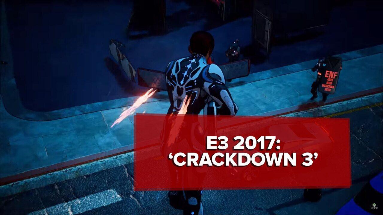 E3 2017: 'Crackdown 3' ganha novo trailer em conferência da Microsoft