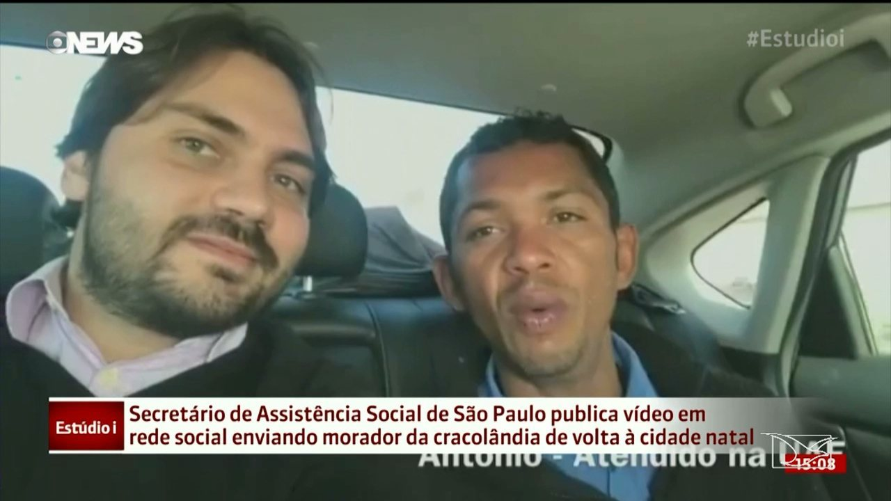 Maranhense que morava nas ruas em São Paulo ganha passagem de volta