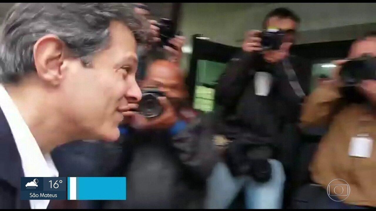 Haddad depõe em investigação sobre conduta de promotor de Justiça