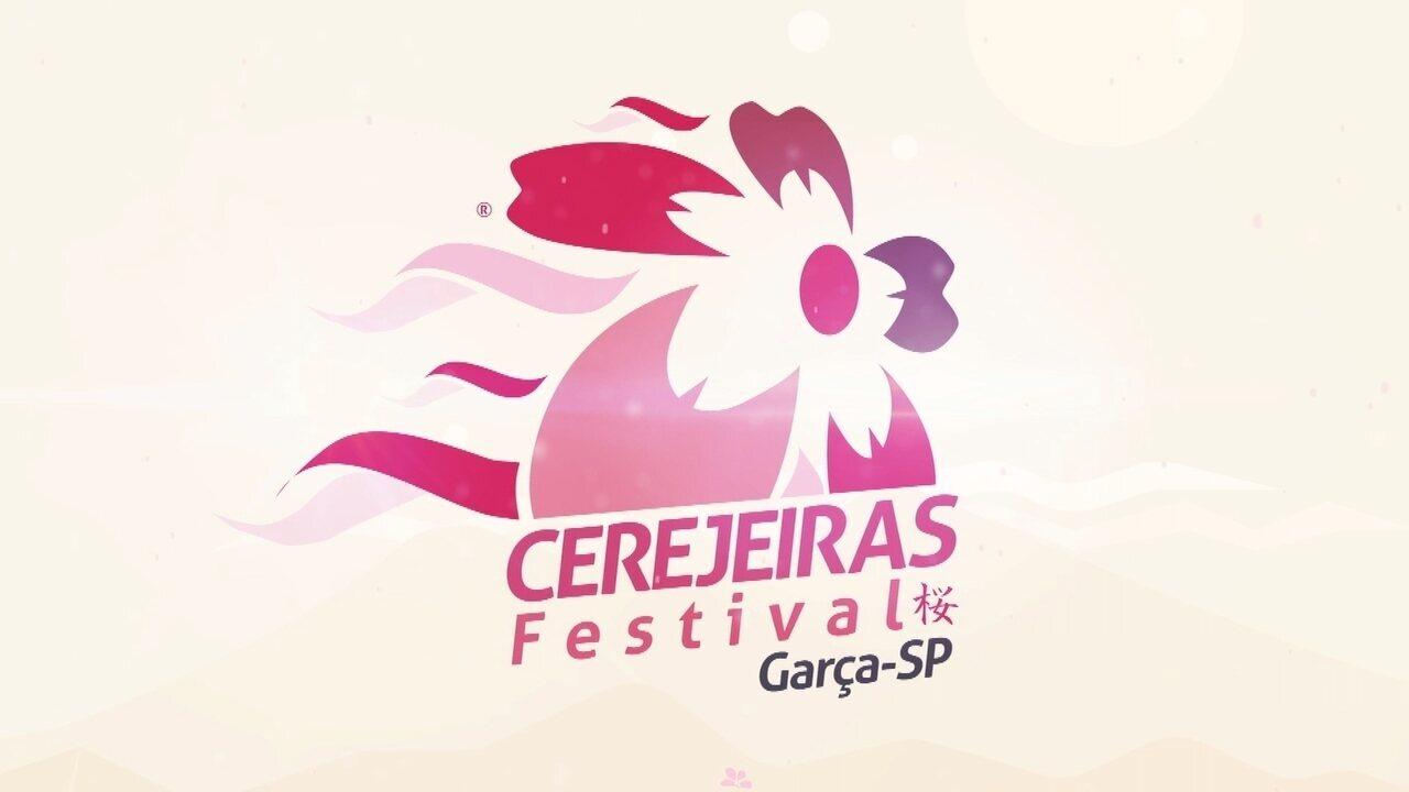 TV TEM convida para o Cerejeiras Festival, em Garça