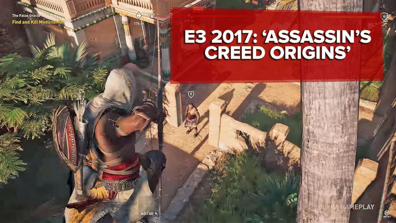 E3 2017: 'Assassin's Creed Origins' se inspira em combates de 'Dark Souls'