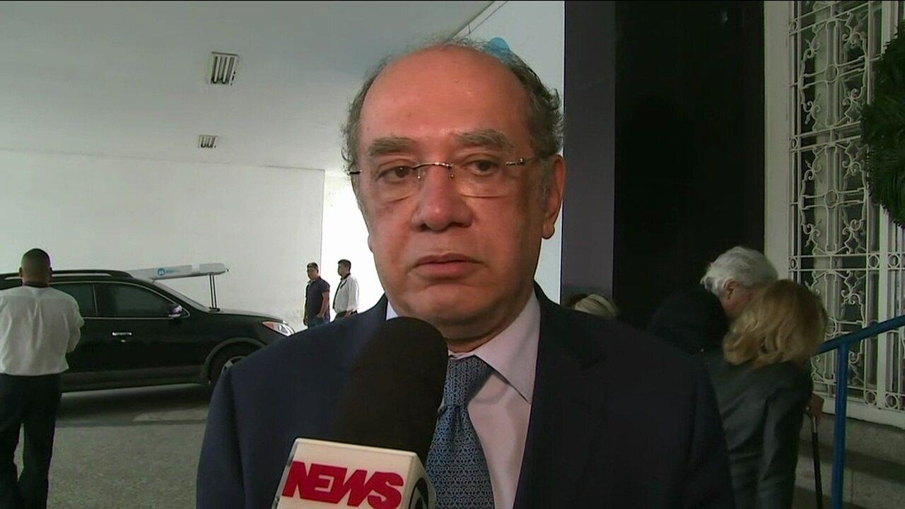 Gilmar Mendes diz que morte de Jorge Bastos Moreno é uma grande perda