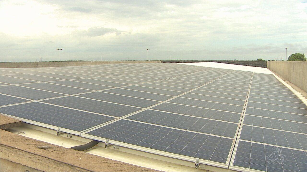 Com painéis solares, prédio da zona eleitoral, em Macapá, economiza R$ 7 mil por mês