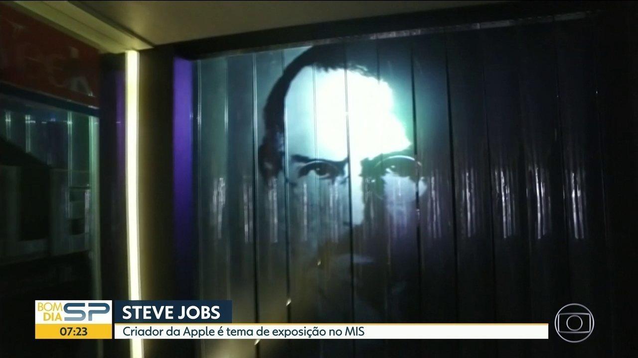 Steve Jobs é tema de exposição no MIS