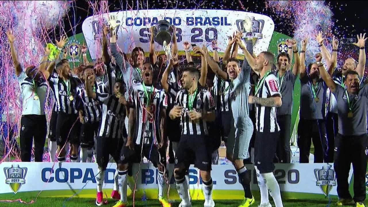 Atlético-MG bate o Flamengo nos pênaltis e é campeão da Copa do Brasil sub-20