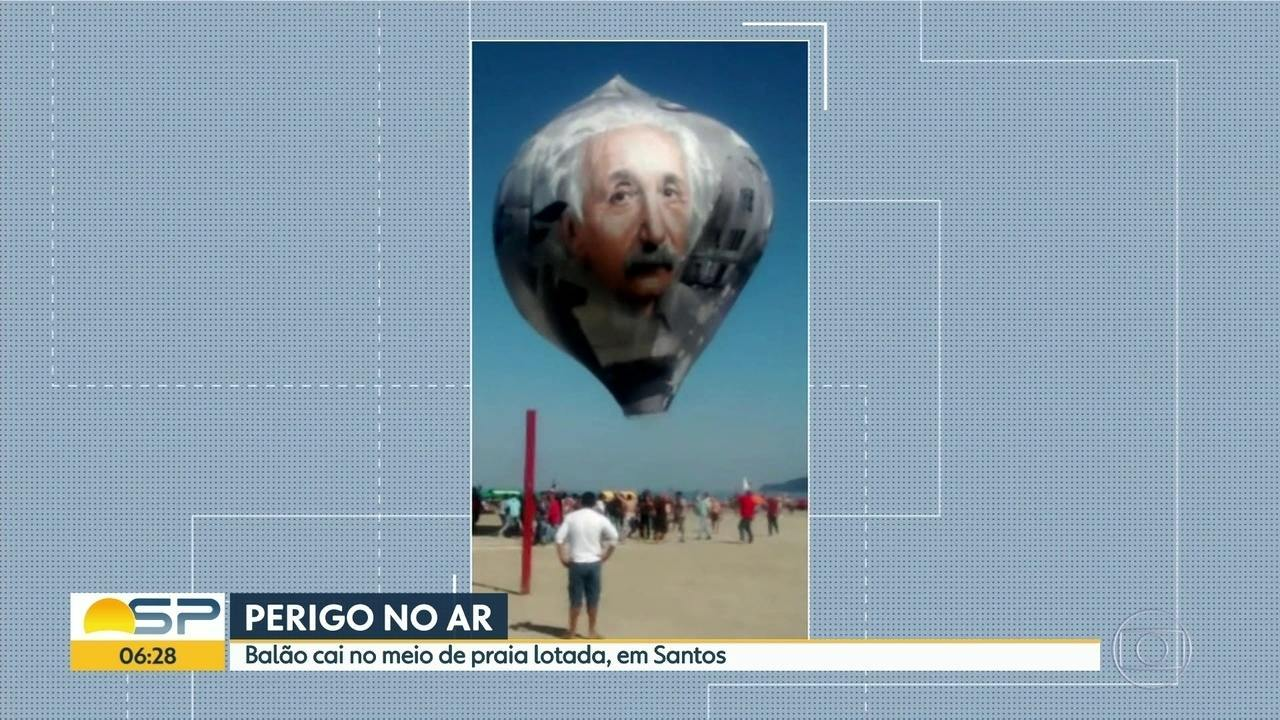 Mais de 40 pessoas foram presas em flagrante por soltar balão no estado de SP