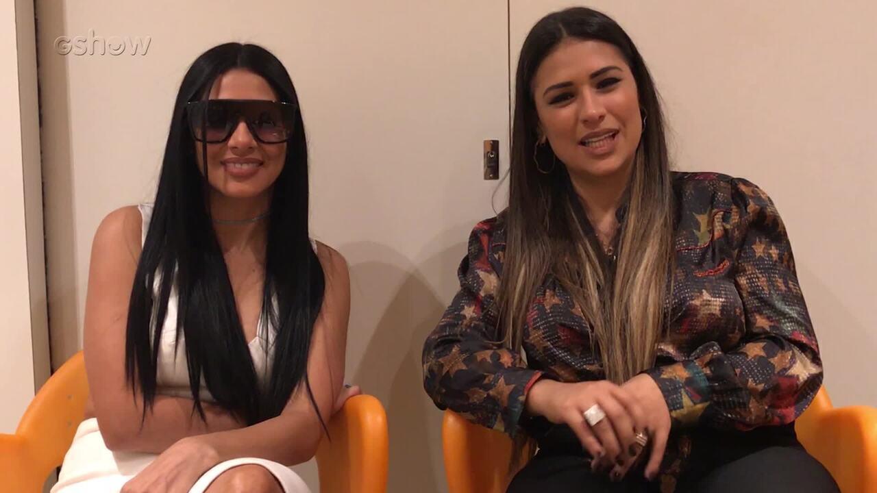 Simone e Simaria leem comentários da web