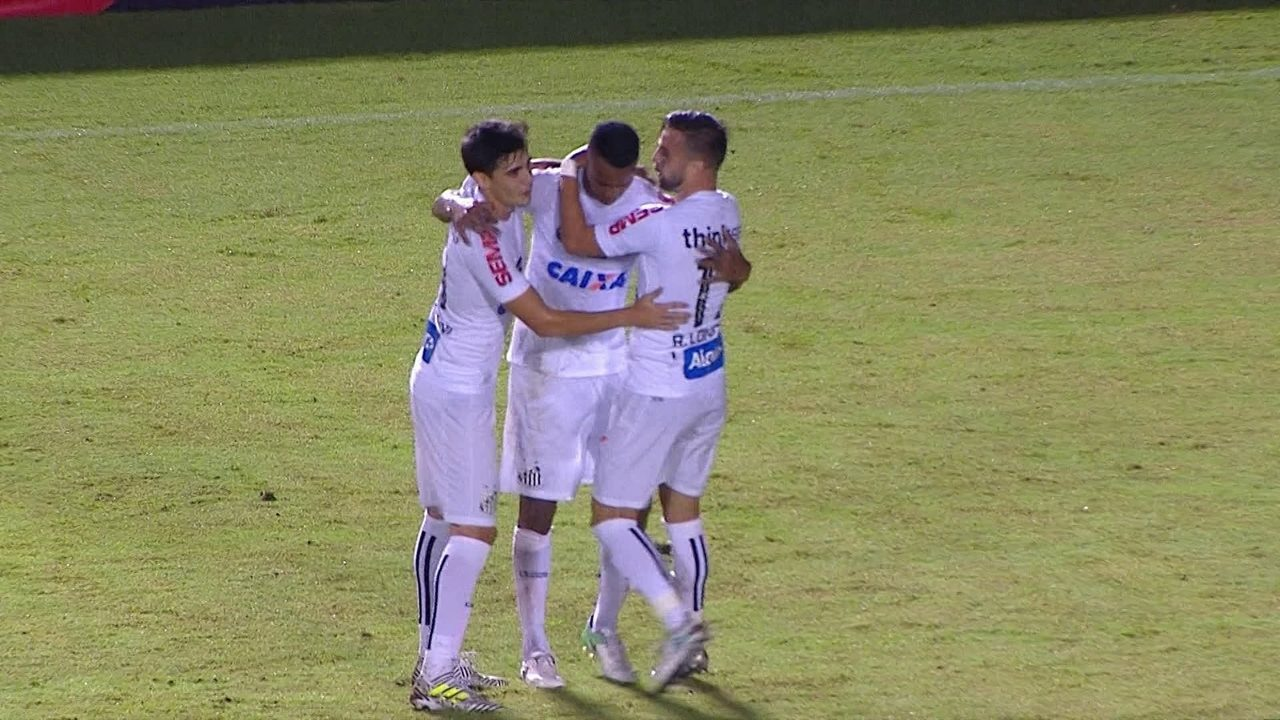 Os gols de Vitória 0 x 2 Santos pela 9ª rodada do Brasileirão 2017 321e5f599cd80