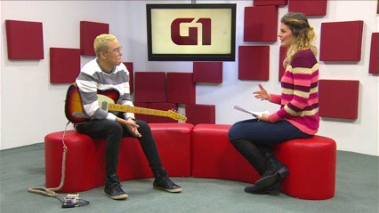Maria Gadú lança o DVD 'Guelã – ao Vivo' em Curitiba; assista à entrevista