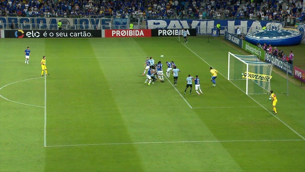 Cruzeiro 3 x 3 Grêmio