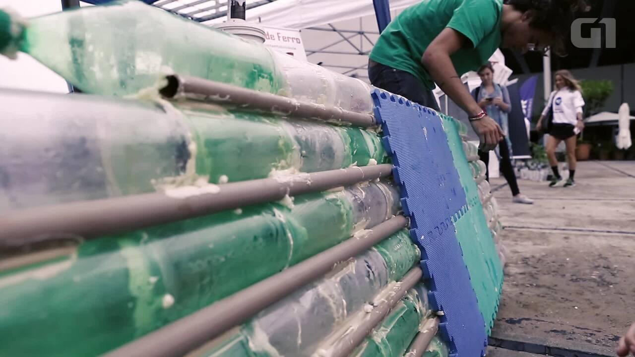 98f983715 Estudantes do Rio criam  prancha ecológica  de stand up paddle que custa 15  vezes menos que valor de mercado