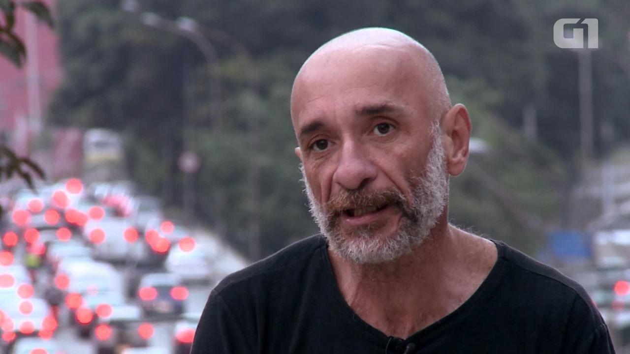Usuário de crack há 20 anos relata sua história na Cracolândia de SP