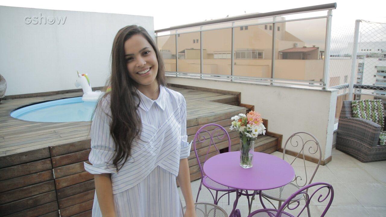 Emilly mostra com exclusividade seu novo apartamento no Rio de Janeiro