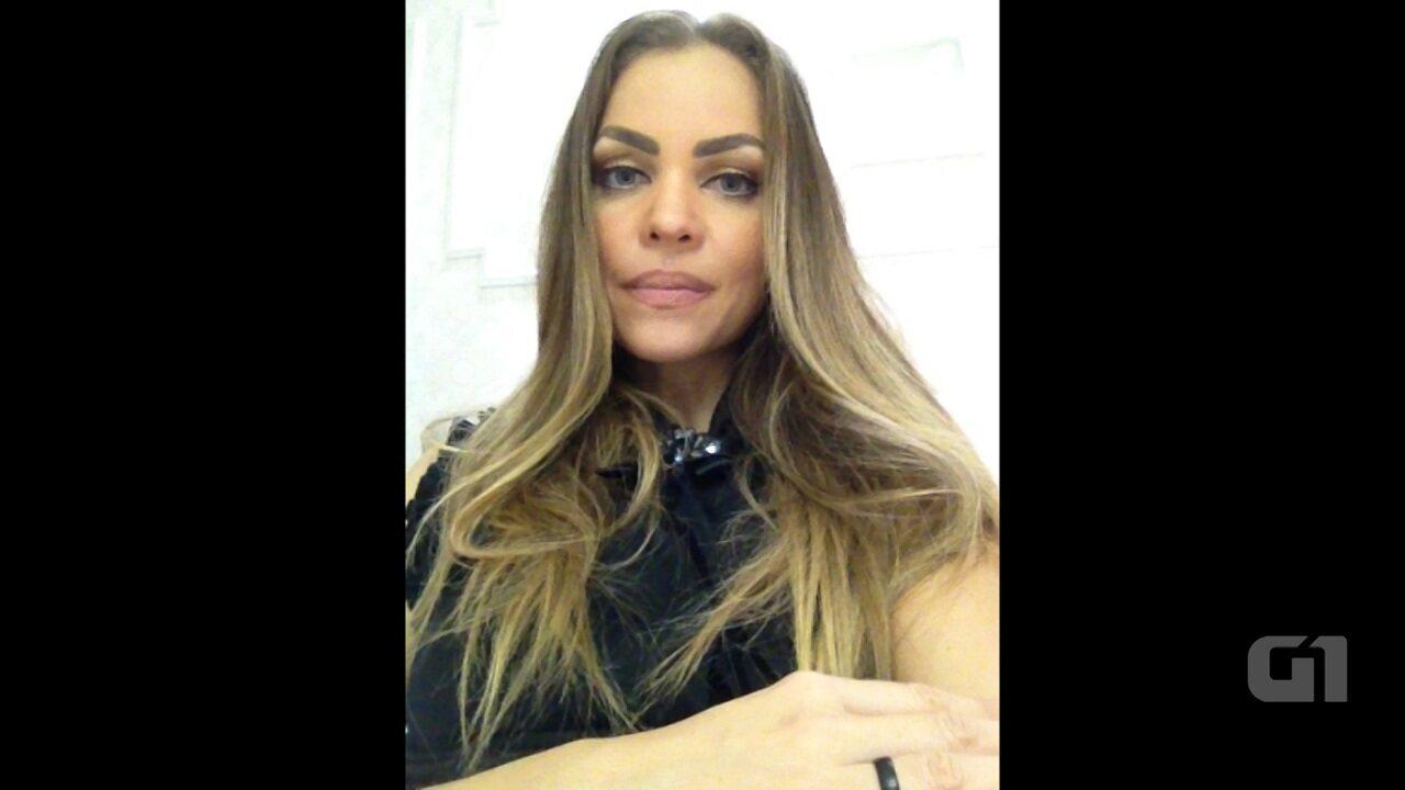 Ex-primeira-dama da Paraíba Pâmela Bório fala sobre vazamento de fotos íntimas