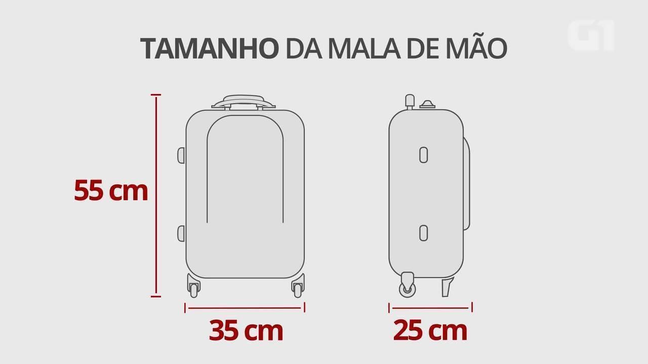 Aprenda a fazer uma mala de mão de 10 kg para não pagar excesso de peso