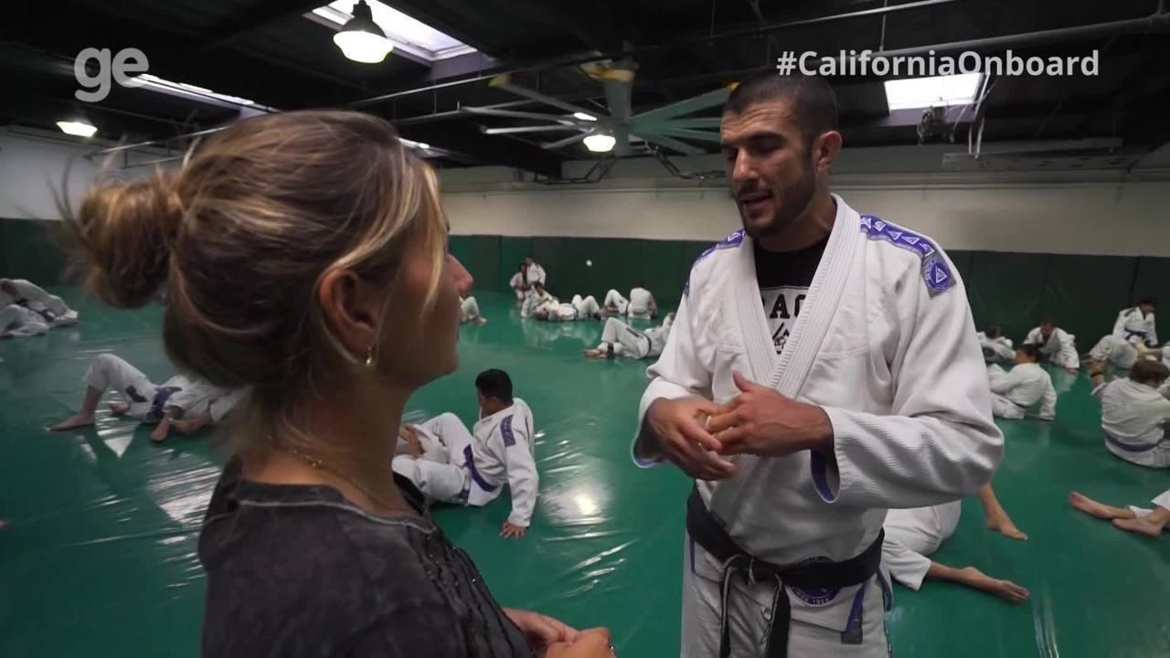 #CaliforniaOnboard visita academia de Jiu-Jitsu da família Gracie, em Los Angeles