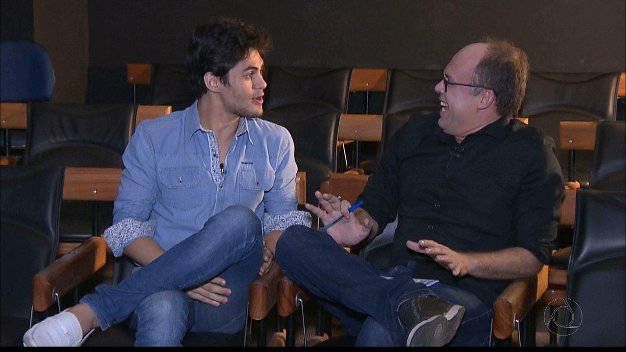 Lucas Veloso fala sobre participação em remake dos 'Trapalhões'