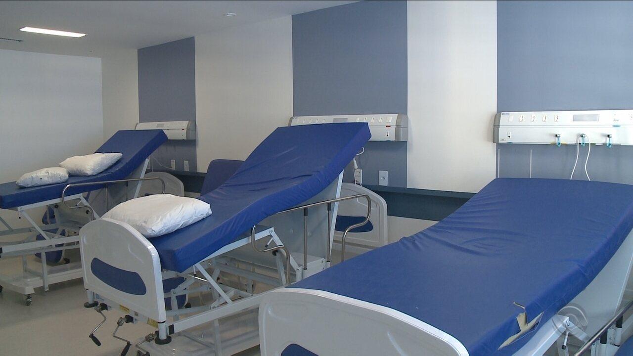 Nova ala do Hospital Regional de Joinville é inutilizada por falta de profissionais