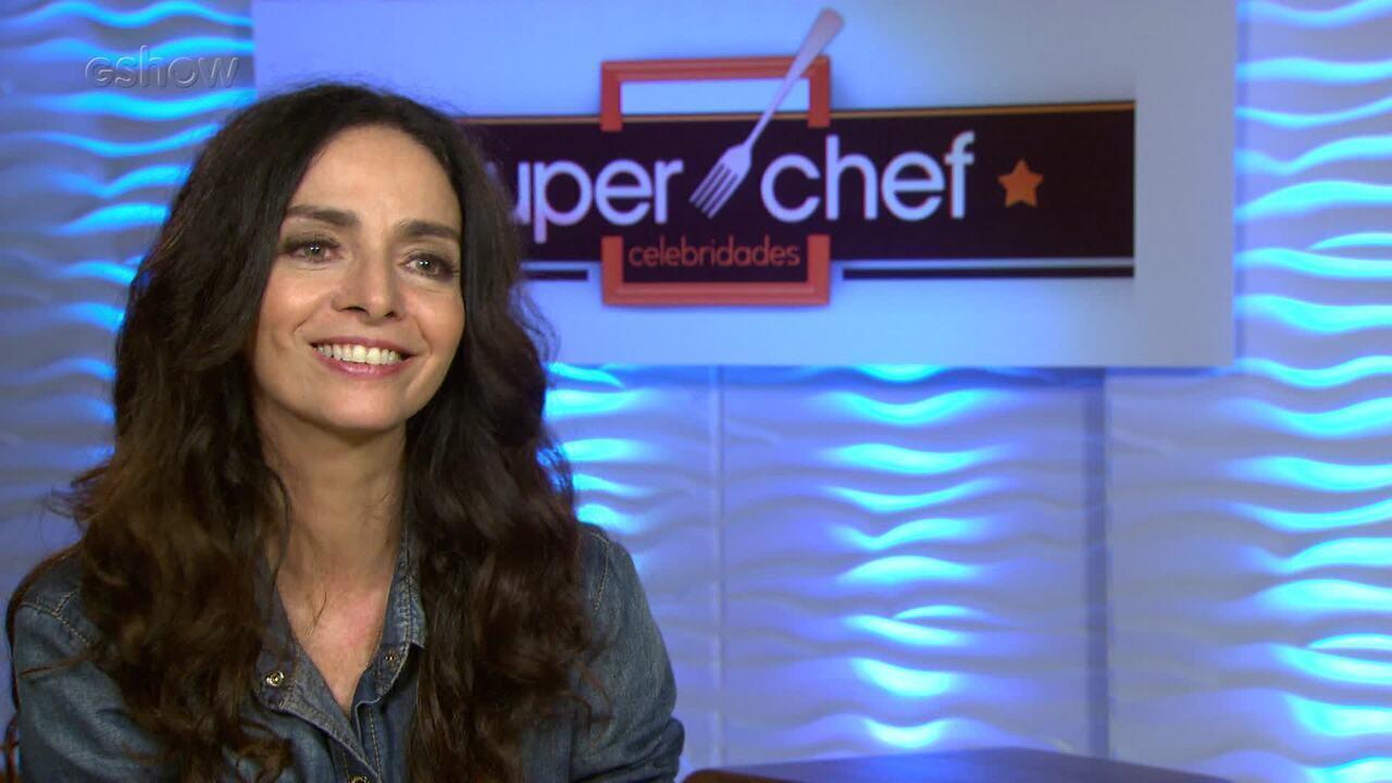 Claudia Ohana revela prato que gostaria que aprender a preparar