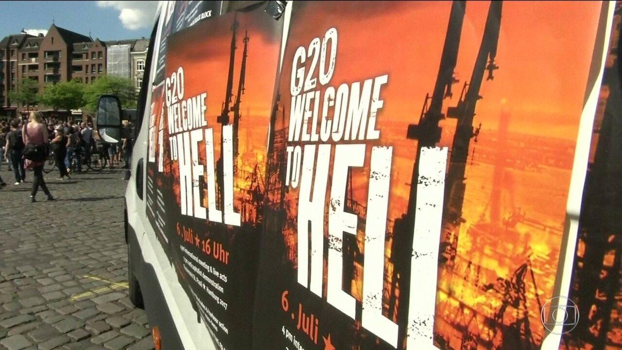 Encontro do G-20 começa com protestos e líderes divididos