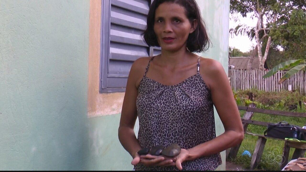 Moradora de município do AM acha mais de 1 mil peças arqueológicas indígenas