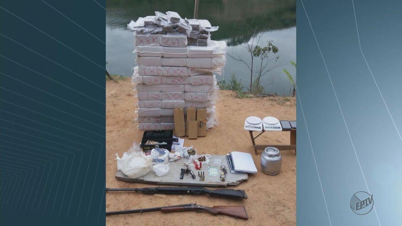 Polícia Militar apreende mais de 270 quilos de maconha em Caconde