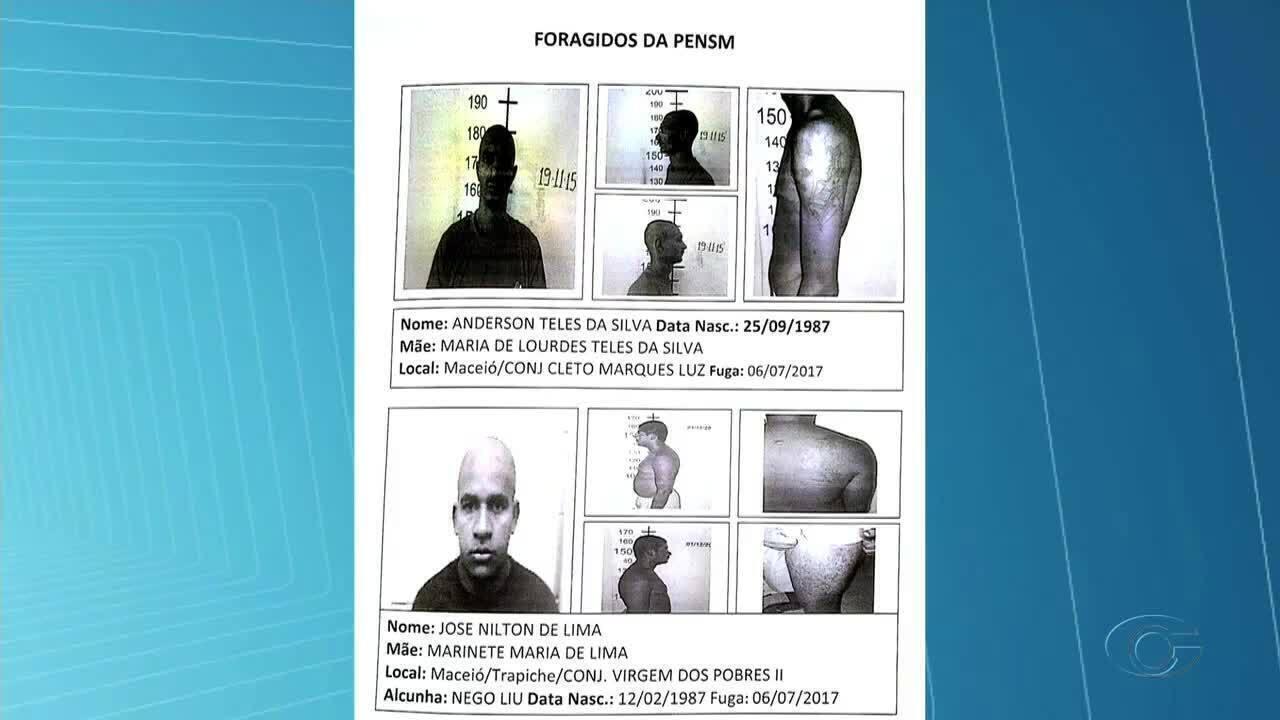Detentos fogem de Presídio de Segurança Máxima em Maceió