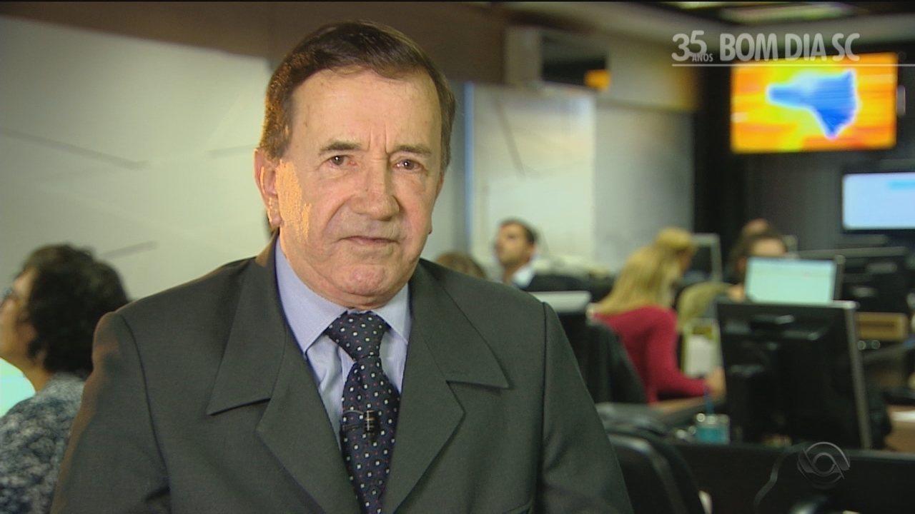 Jornalista Vânio Bossle relembra duas coberturas marcantes do Bom Dia SC